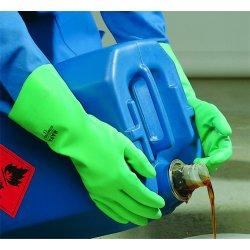 MAPA - 485427 - Size 7 Stansolv Af 15 Nitrile Glove Flock Lined