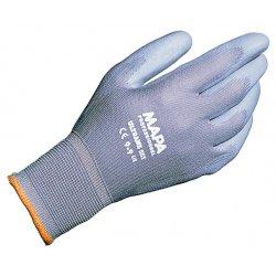 MAPA - 551439 - 13 Gauge Sandy Polyurethane Foam Coated Gloves, Size 9, Gray
