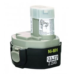 Makita - 1931575 - Makita Hardware Tool Battery - 2600 mAh - Nickel Metal Hydride (NiMH) - 12 V DC