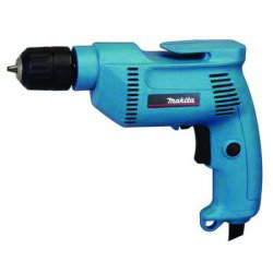 "Makita - 6408K - 3/8"" Electric Drill Kit, 4.9 Amps, Pistol Grip Handle Style, 0 to 2500 No Load RPM, 120VAC"
