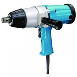 "Makita - 6906 - 3/4"" Impact Wrench, 120VAC Voltage, Detent Pin, 433 ft.-lb. Max. Torque"