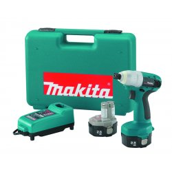 Makita - 6935FDWDE - 14.4V Cordless Impact Driver Kits (Each)