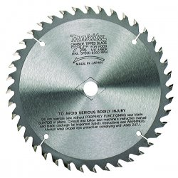 "Makita - 721251-A - 7-1/4"" Saw Blade Carbidetipped 40 Teeth F/"