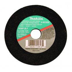Makita - 724107-5-10 - Makita 724107-5-10 4' with 5/8' Arbor Cut-Off Wheel for Ferrous Metals - 10 per Package