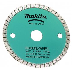 "Makita - 724950-8D - 3-3/8"" Masonry Diamond Wheel, Ea"