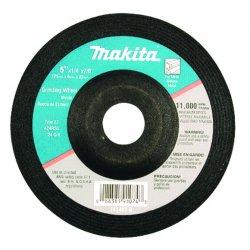 "Makita - 741402-9AP - 4""x1/4"" Grinding Wheel 24grit, Ea"