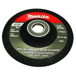 "Makita - 741404-0CP - 4""flex Wheel 60grit 9501bkw"