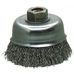 "Makita - 743207-2 - 4"" Crimped Wire Cup Brush"