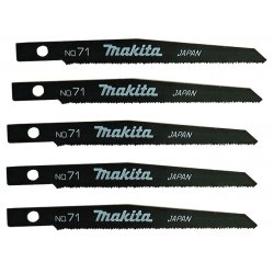 "Makita - 792540-9 - 4"" Steel Reciprocating Saw Blade, 24 Teeth per Inch, Package Quantity 5"