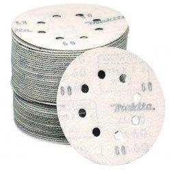 """Makita - 794519-6-50 - 5"""" Abrasive Disc Hook &loop 80 Grit"""