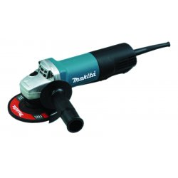 Makita - 9557PBX1 - Makita 9557PBX1 4-1/2'' Angle Grinder with Aluminum Case, Diamond Blade and Grinding Wheels