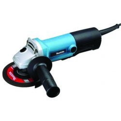Makita - 9558PB - Makita 9558PB 5'' 7.5A Angle Grinder w/ Paddle Switch (Ac/Dc, 10000 Rpm)