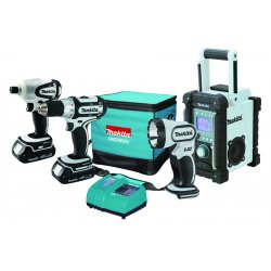 Makita - LCT400W - 18V COMPACT LITHIUM-ION4 PIECE (Each)