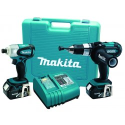 Makita - LXT218 - 18 V LXT Li-Ion 2 piece Combo Kit