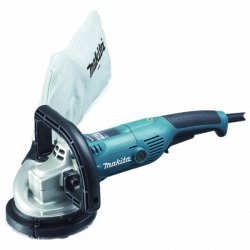 "Makita - PC5000C - 5"" Concrete Planer, 10, 000 No Load RPM, 10 Amps @ 120V, Trigger Switch Type"