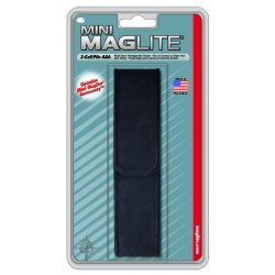 MagLite - AM3A026 - Black Nylon Full Flap Holster Aaa