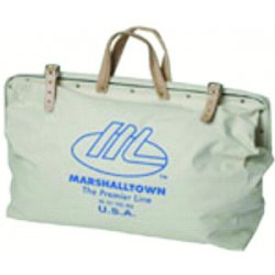 Marshalltown Trowel - 16431 - 831 20x15 Canvas Tool Bag