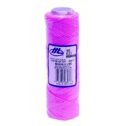Marshalltown Trowel - 16581 - 631 250' Mason's Line Fluorescent Pink Braid