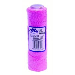 Marshalltown Trowel - 16582 - 632 Mason's Line-250' Fluorescent Yellow Braid
