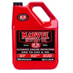 Marvel Mystery Oil - MM14R - Oil Additive, 1Gal, Red, Transparent