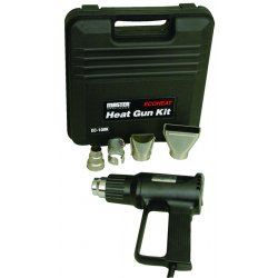 Master Appliance - EC-100K - Ecoheat Heat Gun Kit W/4 Attcachments And Case