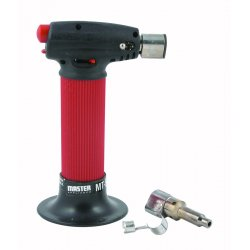 Master Appliance - MT-51H - Microtorch&#x3b; Self Igniting with Safety Lock, Hot Air Tip Provides Flameless Heat For Heat Shrink Appl