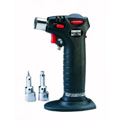 Master Appliance - MT-76 - Trigger Torch&#x3b; Self Igniting with Safety Lock, Adjustable Broad or Pinpoint Flame, Built In Refillab