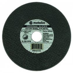 "Metabo - 55346 - 4-1/2""x.045x7/8"" Type 27slicer Wheel A60tz Grit"