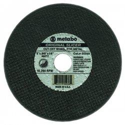 "Metabo - 655347000 - 6""x.045x7/8"" Type 27 Slicer Wheel A60tz Grit"