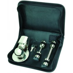 Master Lock - 3774DAT - Towing Chrome Plated Steel Lock Set, Ea