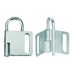 Master Lock - 418 - Lockout Hasp 4 Lock 1 In Diameter Master Lock Co. Steel, Ea