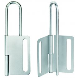 Master Lock - 419 - Lockout Hasp 8 Lock 1 In Diameter Master Lock Co. Steel, Ea