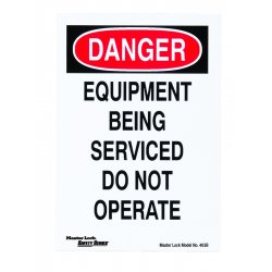 Master Lock - 463B - Safety Series Lockout Signs
