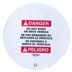 Master Lock - 4716 - Danger Sign, 16 x 16In, R and BK/WHT, Vinyl