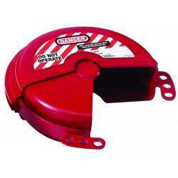 Master Lock - 481 - Master Lock Red Thermoplastic Zenex Valve Lockout, ( Each )