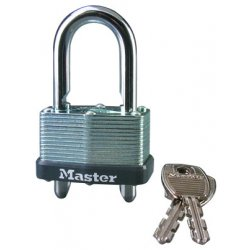 Master Lock - 510-D - Warded Mechanism Padlockw/ Adjustable