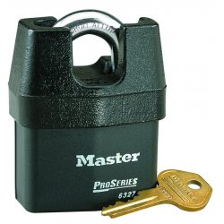 Master Lock - 6327 - 5 Pin High Security Padlock Keyed Different