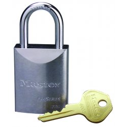 Master Lock - 7030LF - 5 Pin Solid Steel Padlock Keyed Different W