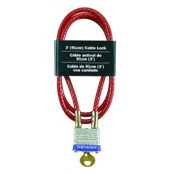 Master Lock - 719 - Master Lock 3ft Cable