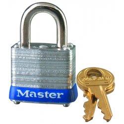 "Master Lock - 7LJKD - 4 Pin Tumbler Padlock 2-1/2"" Shackle Key"