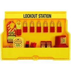 "Master Lock - S1850E1106 - Lockout Station, Filled, Electrical Lockout, 15-1/2"" x 23-1/2"""