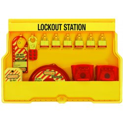 "Master Lock - S1850V3 - Lockout Station, Filled, Valve Lockout, 15-1/2"" x 23-1/2"""