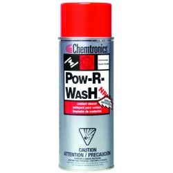 ITW Chemtronics - ES1613 - Pow-r-wash Nr Contact Cleaner 12 Oz. Nonflammabl
