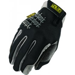 MechanixWear - H15-05-011 - Mechanix Wear X-Large Black Utility Full Finger Synthetic Leather Mechanics Gloves With Elastic Hook And Loop Cuff, Seamless Single Layer Palm, Reinforced Clarino Dura-Fit Synthetic Leather Thumb And Index Fingertips
