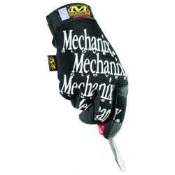 MechanixWear - MG-05-010 - Mechanics Gloves, L, Black, Smooth Palm, PR