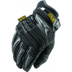 MechanixWear - MP2-05-011 - Mechanix Wear X-Large Black M-Pact 2 Full Finger Synthetic Leather Anti-Vibration Gloves With Neoprene Hook And Loop Wrist, EVA Foam Padded Impact Zones And Rubberized Panels On Thumb, Fingertips And Palm