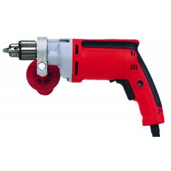 Milwaukee Electric Tool - 0200-20 - 3/8 Electric Drill, 7.0 Amps, Pistol Grip Handle Style, 0 to 1200 No Load RPM, 120VAC