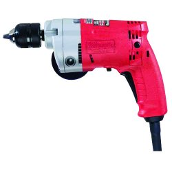 Milwaukee Electric Tool - 0233-20 - Milwaukee 0233-20 120V AC 3/8' Magnum Drill 0 2800 RPM with Side Handle