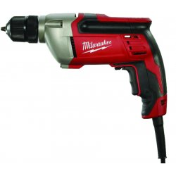 "Milwaukee Electric Tool - 0240-20 - 3/8"" Electric Drill, 8.0 Amps, Pistol Grip Handle Style, 0 to 2800 No Load RPM, 120VAC"
