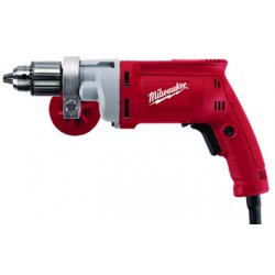 "Milwaukee Electric Tool - 0299-20 - 1/2"" Electric Drill, 8.0 Amps, Pistol Grip Handle Style, 0 to 850 No Load RPM, 120VAC"